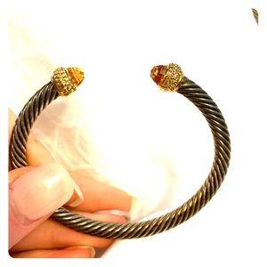 David Yurman Classic Bracelet with Diamonds